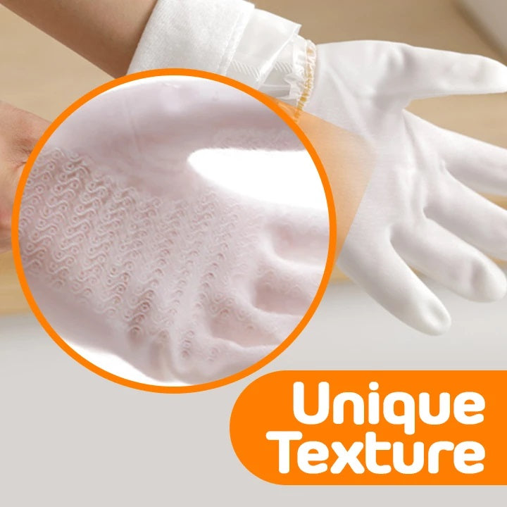Durable Velvet Kitchen Gloves (1 Pair)