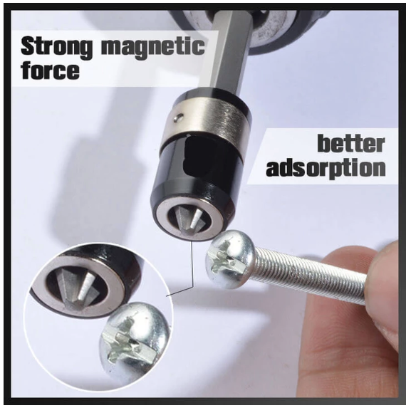 Screwdriver Head Magnetic Ring