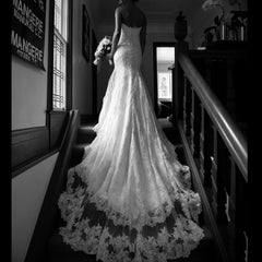 sally bean lace wedding dress