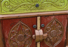 Load image into Gallery viewer, Balinese Boat Carved hutch.