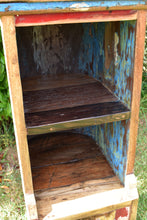 Load image into Gallery viewer, Small Rustic Boat Hull Cabinet.