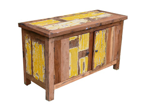 Small Yellow Sideboard.