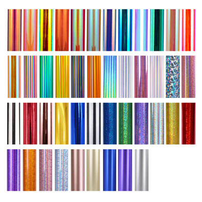 TECKWRAP 45 Colors Sheets / Roll Pack