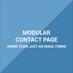 Extension - Contact Us Page - Modular, Multi-Section Support