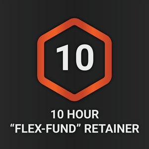 "10 Hour ""Flex-Fund"" Retainer"