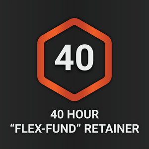 "40 Hour ""Flex-Fund"" Retainer"