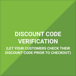 Extension - Discount Code Verification