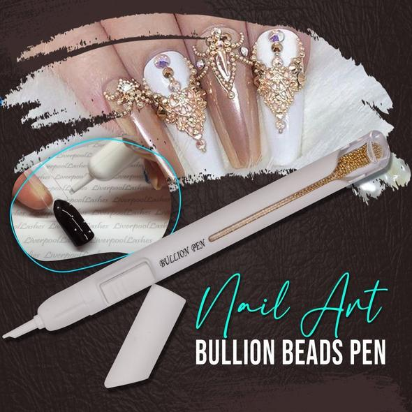 Nail Art Bullion Beads Pen