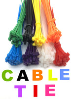 Removable cable screeds Plastic cable screeds of reusable 100 pcs