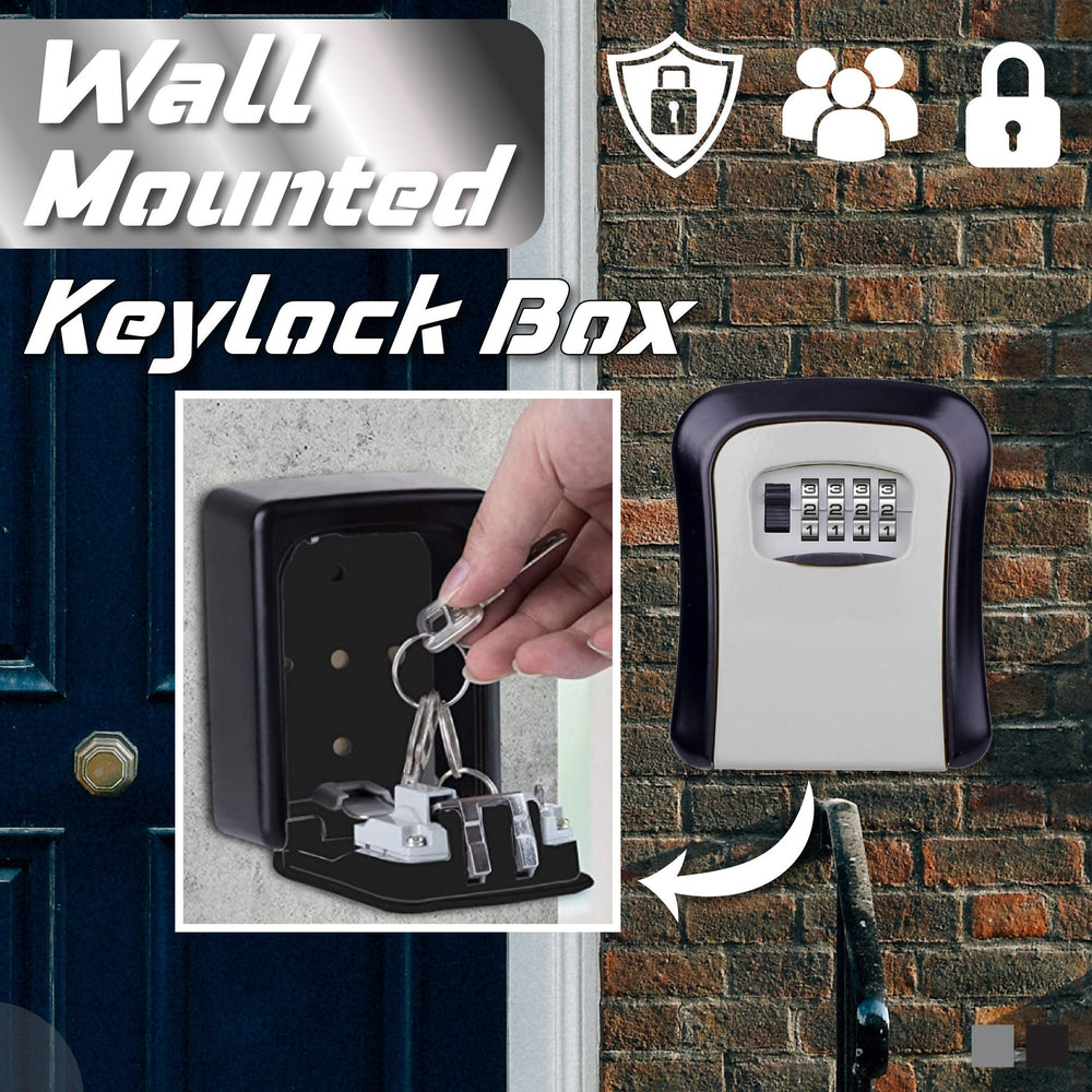 Wall Mounted Keylock Box