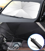 Car Front Sunshade Reflective UV Protection Automatic Parasol Windshield
