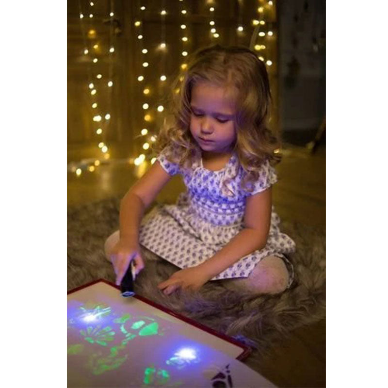 Light Drawing Board Fun Developing Toy