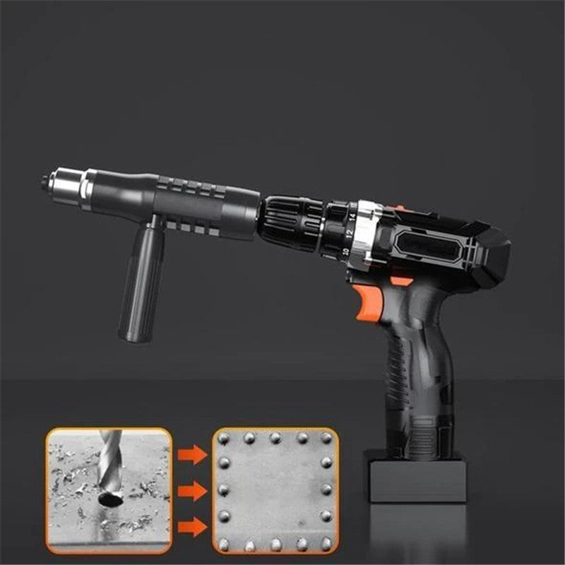 Adapter Kit For Professional Riveting Gun With 4 Bolts For Different Nozzles