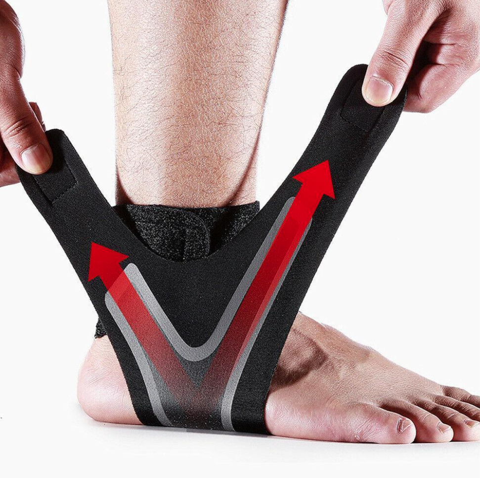 The Adjustable Elastic Ankle Brace (1 pairs)