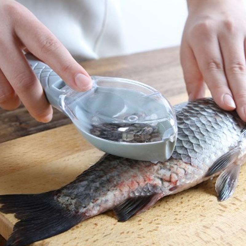 Fish Skin Scraping Scale Peeler