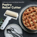 Bread Cookies Lattice Pastry Cutter Roller