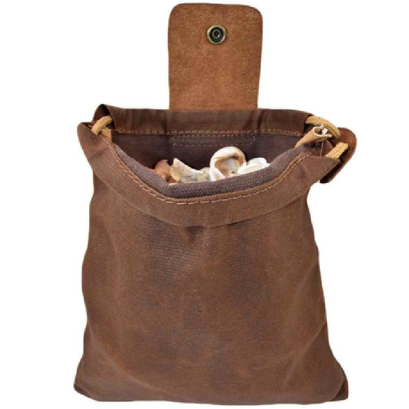 Leather & Canvas Bushcraft Bag