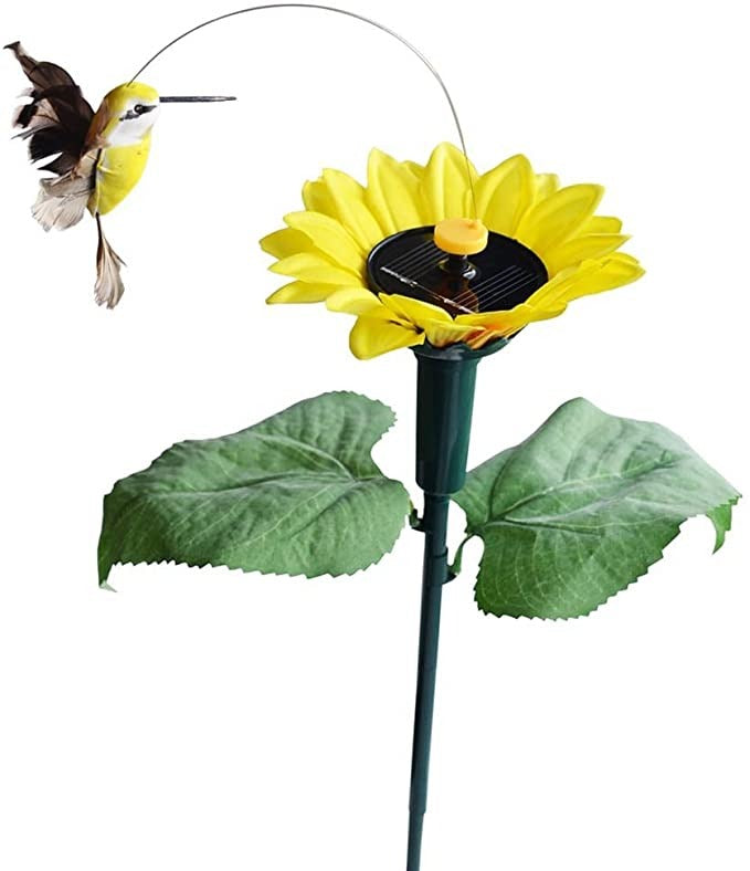 Olar Dancing Hummingbird With Sunflower