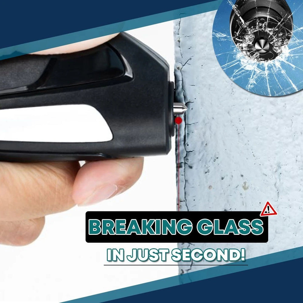 Car Glass Breaker and Seat Belt Cutter