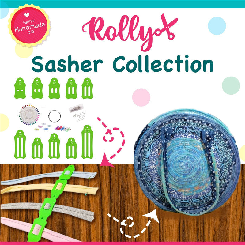 ROLLY Sasher Collection DIY Jelly Roll Sasher Tool Set