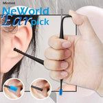 2pcs 360 Degree Soft Spiral Double Head Ear Pick Set