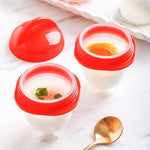 Egg Cooker Egg Cup Made of Silicone(6pcs)