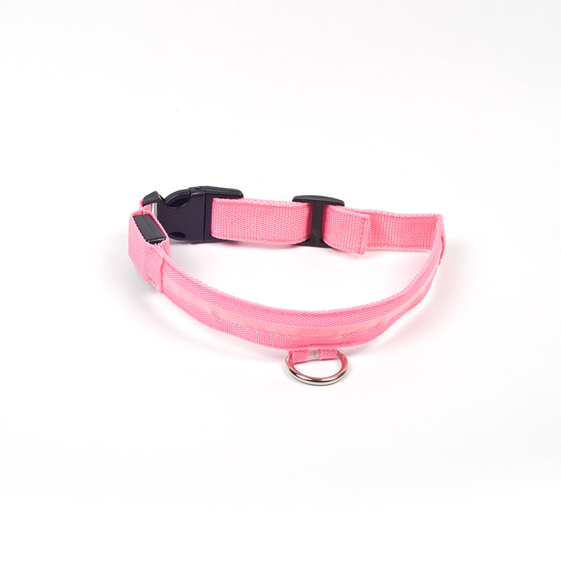 Illuminating Paws L.E.D Dog Collar USB or Battery operated
