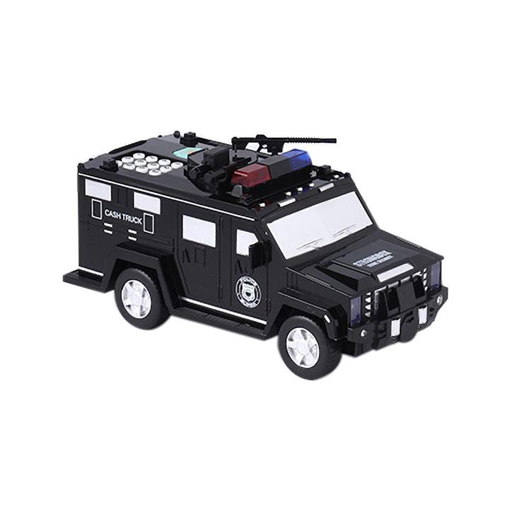 Money Bank Code Armored Hummer Car(Fits all kinds of paper money and coins)