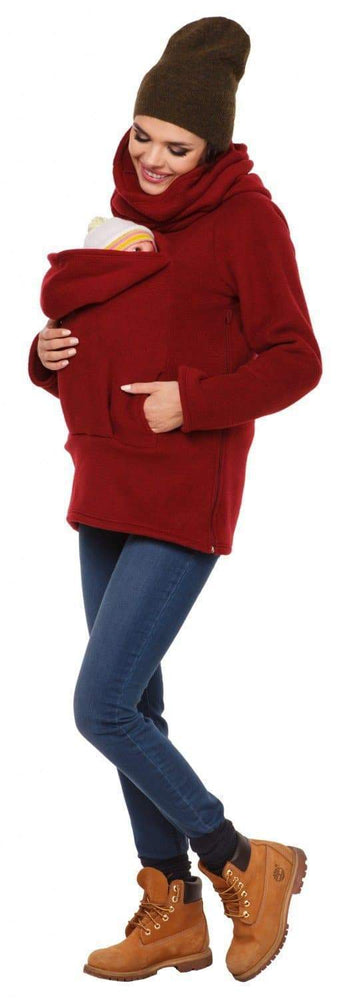 Three in one multifunctional autumn/winter women's kangaroo sweater