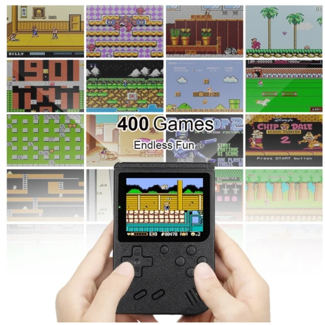 TINYTENDO (400 GAMES BUILT IN)