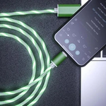 Glowing LED Magnetic 3 in 1 USB Charging Cable