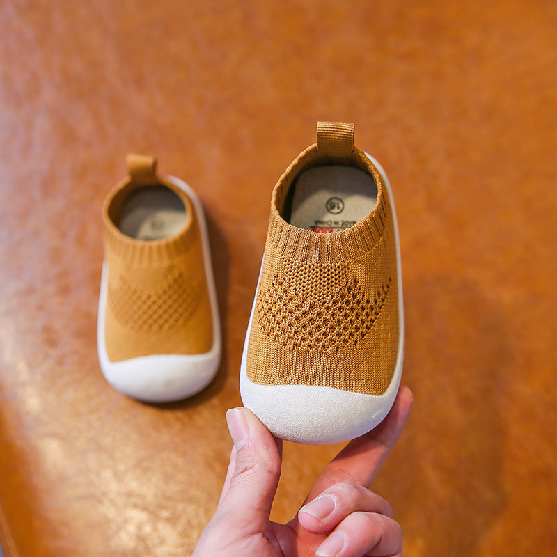 Blissful Baby Comfortable Mesh-knit Baby Firstwalker Shoes