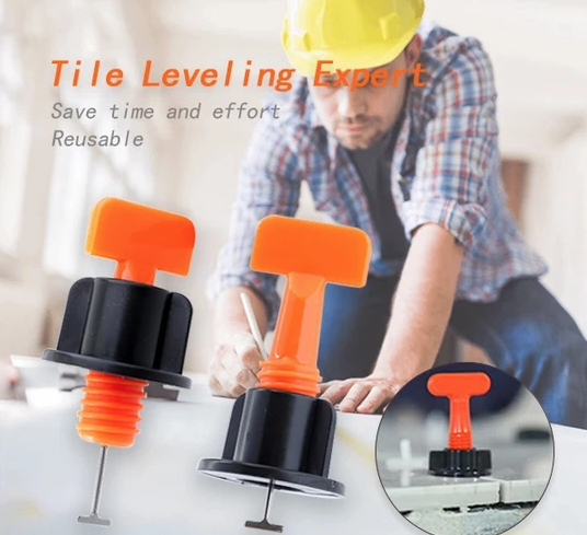 Reusable Tile Leveling System