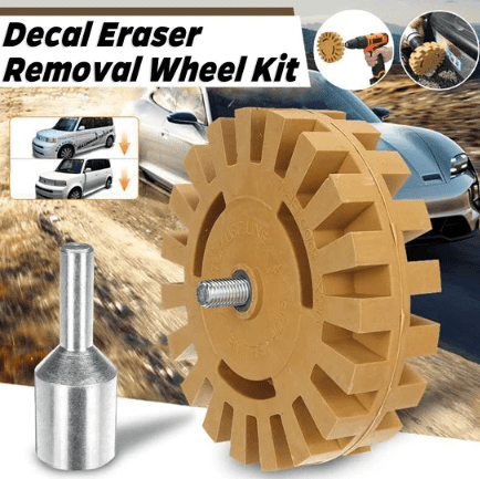 Eraser Removal Wheel Kit