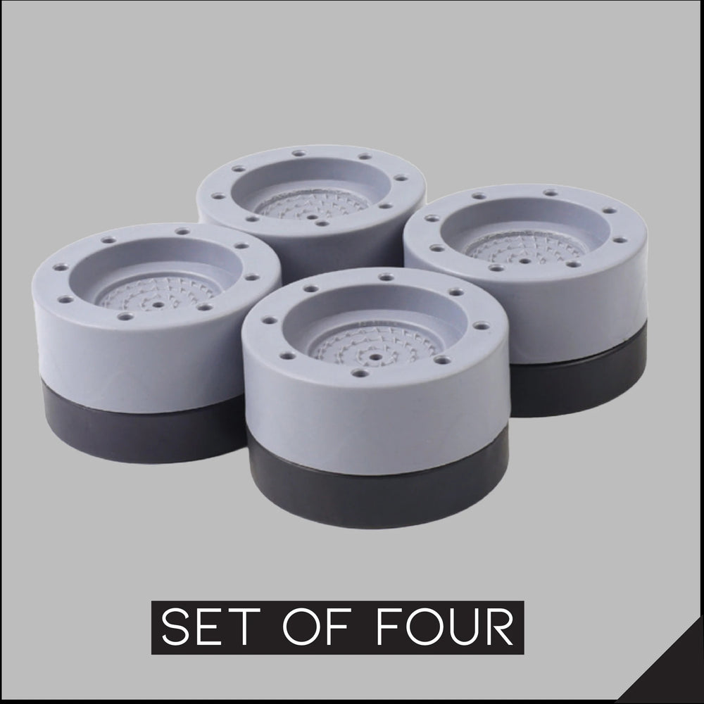 Shock And Noise Cancelling Washing Machine Support(4PCs)