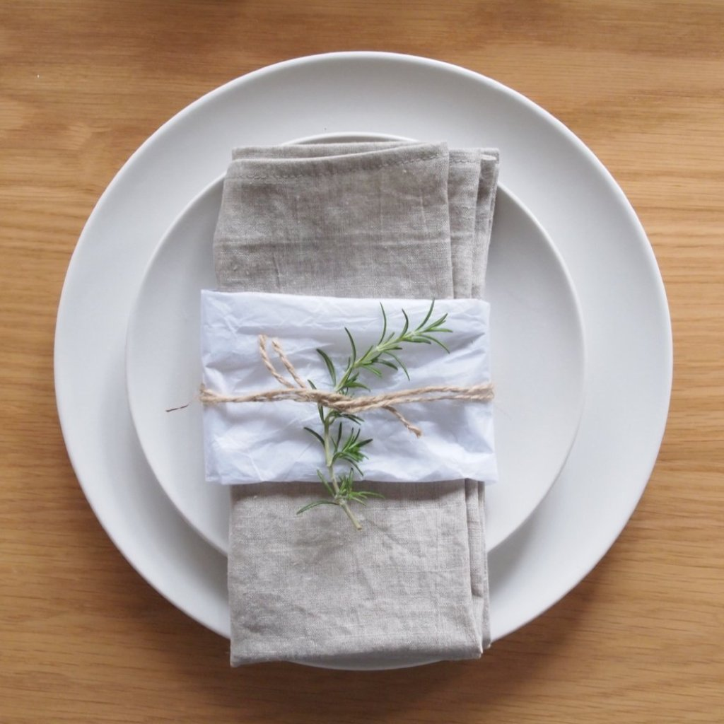 Linen Napkins - Natural
