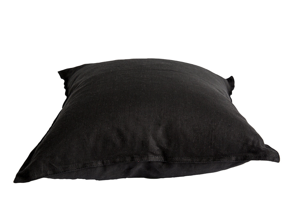 Black Linen Cushion