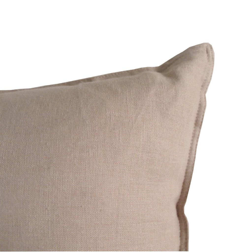 Linen Cushion - Oatmeal
