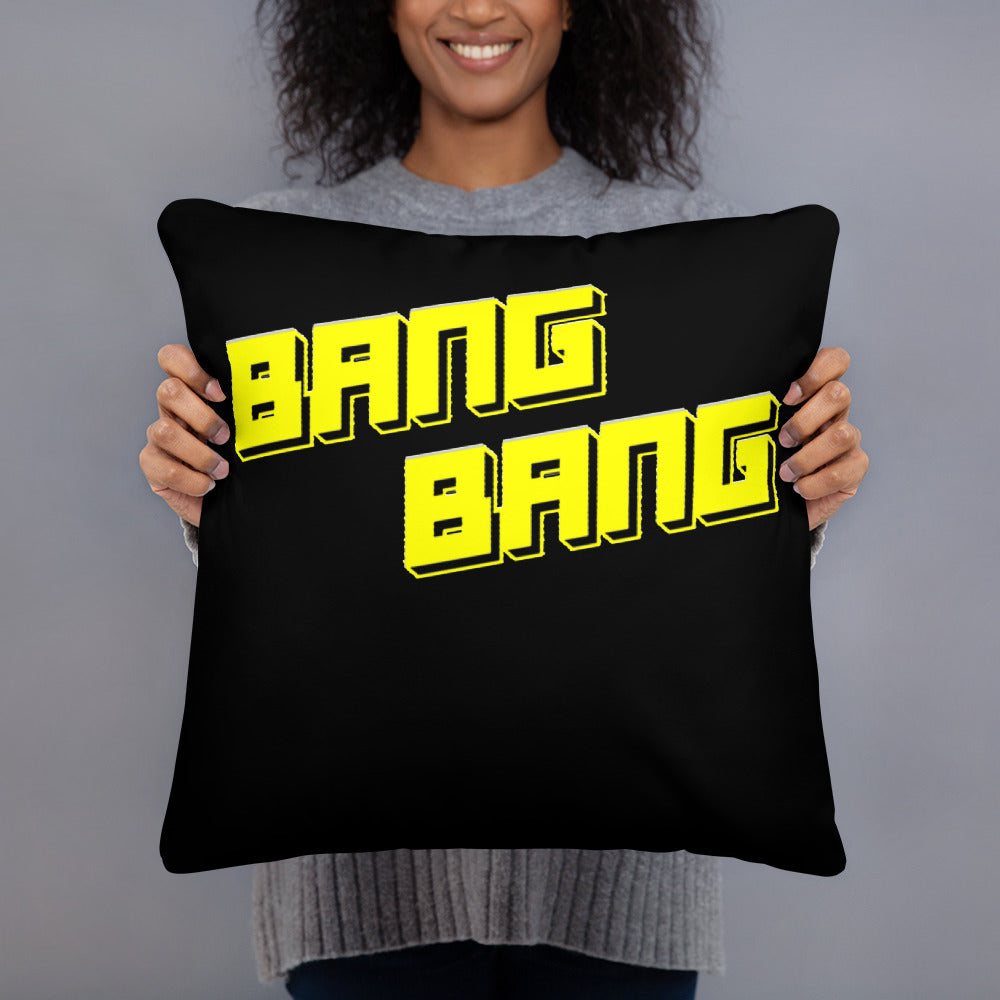 Bang Bang Basic Pillow