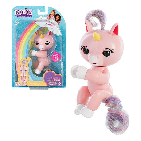 Figure Unicorn Gemma Fingerlings Pink 117078