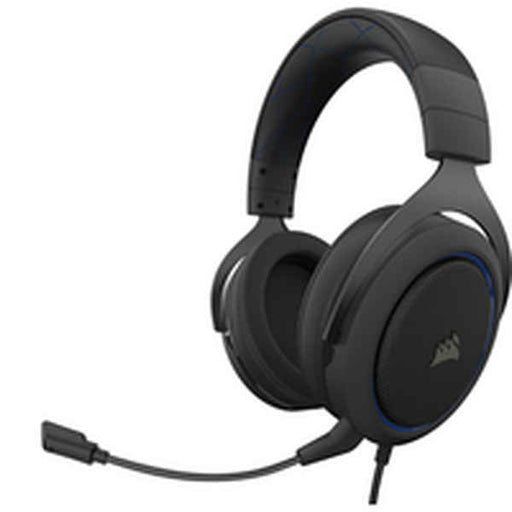 Headphones with Headband Corsair HS50 PRO STEREO Blue (Refurbished B)