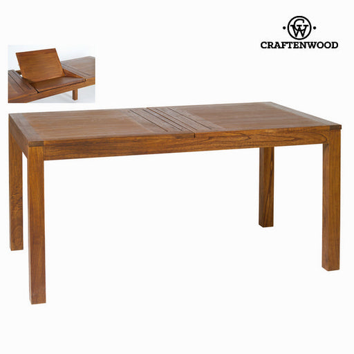 Table à manger - Be Yourself Collection Ohio extensible bois Mindi (220 x 90 x 78 cm)
