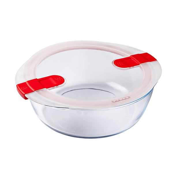 Lunchbox Pyrex COOK & HEAT Transparant Glas