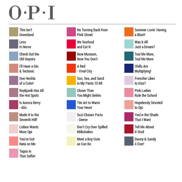 nail polish Inifinite Shine 2 Opi