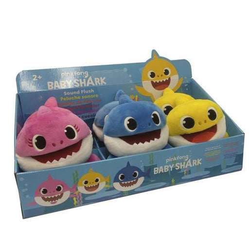 Soft Puppets Singing Baby Shark Bandai
