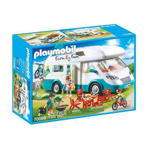 Playset Playmobil Family Fun Summer Caravan Playmobil (135 pcs)