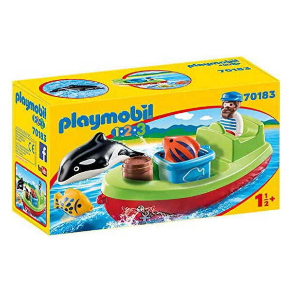 Playset 1.2.3 Fisherman Playmobil 70183 (7 pcs)