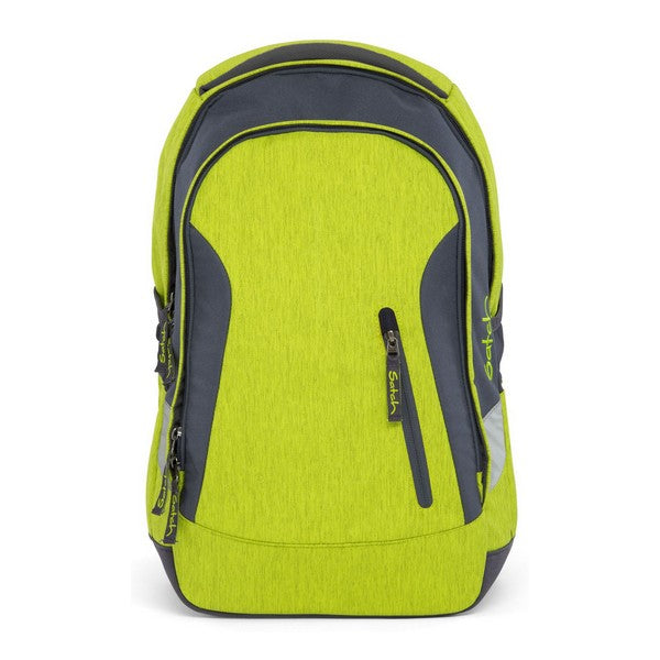 School Bag Eco Ergobag SAT-SLE-001-206 Grey Green (45 X 15 x 27 cm)