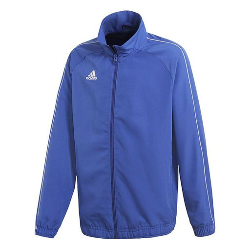 Children's Sports Jacket Adidas CORE18 PRE Blue