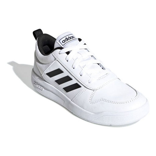 Children's Casual Trainers Adidas VECTOR K White Black